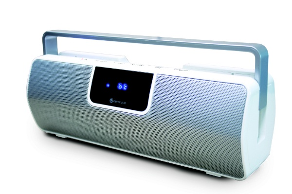 derctvue Bluetooth防滴ワイドFMポータブルスピーカー FBT-5 ワイヤレススピーカー