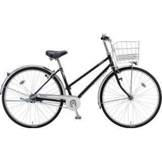 26型 自転車 ロングティーン スタンダード S型(P.Xクリスタルブラック/3段変速/点灯虫モデル)LT63ST【2019年モデル】 【組立商品につき返品不可】