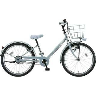 22型 子供用自転車 bikke j(ブルーグレー×シングル/シングルシフト)BK22VJ【2019年モデル】 【組立商品につき返品不可】