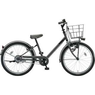 22型 子供用自転車 bikke j(ダークグレー×シングル/シングルシフト)BK22VJ【2019年モデル】 【組立商品につき返品不可】