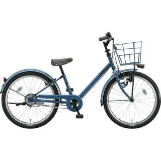 22型 子供用自転車 bikke j(ネイビーグレー×シングル/シングルシフト)BK22VJ【2019年モデル】 【組立商品につき返品不可】