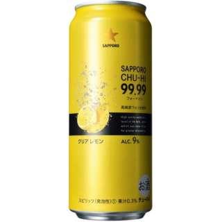 99.99(フォーナイン) クリアレモン (500ml/24本)【缶チューハイ】