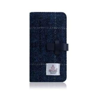 iPhone XR 6.1 Harris Tweed Diary ネイビー