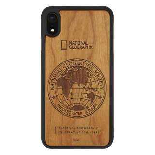 iPhone XR 6.1インチ用 130th アニバーサリーcase Nature Wood