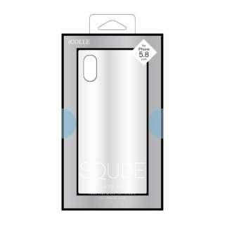 iPhone XS 5.8インチ用 背面ガラス高光沢ケース