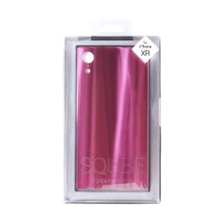 iPhone XR 6.1インチ用 背面ガラス高光沢ケース