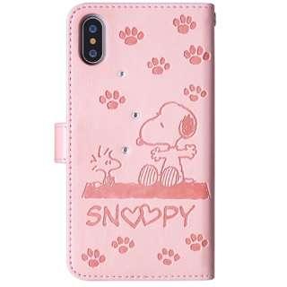 iPhone XS 5.8インチ用 ストーンケース スヌーピー