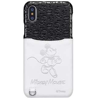 iPhone XS 5.8インチ用 ポケットケース ミッキー