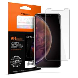 iPhone XS Max 6.5インチ Glass Glas.tR SLIM HD (1Pack)