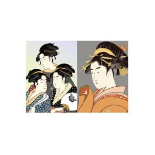 PKN-739 パックンカバーノート高透明A5浮世絵 美人画