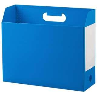 AD-2651 アドワン ボックスファイル A4ヨコ ブルー