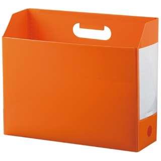 AD-2651 アドワン ボックスファイル A4ヨコ オレンジ