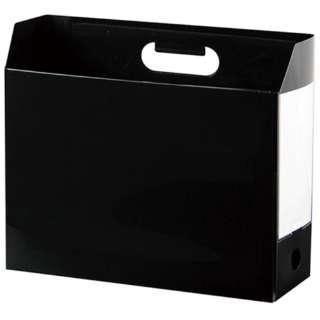 AD-2651 アドワン ボックスファイル A4ヨコ ブラック