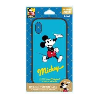 iPhone XR 6.1インチ用 ハイブリッドタフケース PG-DCS480M9R ミッキーマウス レッド