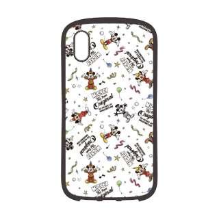 iPhone XS Max 6.5インチ用 ハイブリッドタフケース PG-DCS518M9W ミッキーマウス ホワイト