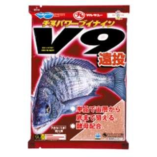 フカセ釣り用ベースエサ チヌパワーV9遠投(1500g) 024710