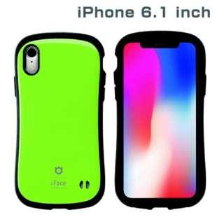 iPhone XR 6.1インチ用 インチ用専用iFace First Class Standardケース(グリーン) 41-896686