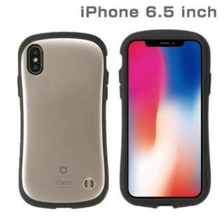 iPhone XS Max 6.5インチ専用iFace First Class Metallicケース(ゴールド) 41-897218