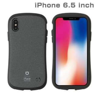 iPhone XS Max 6.5インチ専用iFace First Class Senseケース(グレー) 41-897300