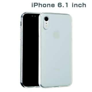 iPhone XR 6.1インチ用 インチ用専用サイドカラードクリアハイブリッドケース(クリア) 276-897423