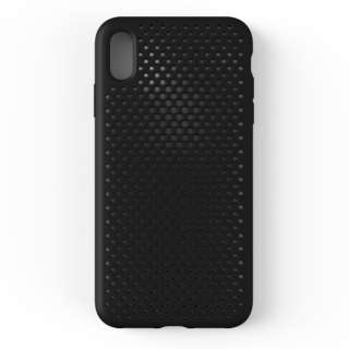 iPhone XS Max 6.5インチ専用AndMesh メッシュiPhone XS Max ケース(ブラック) 612-958547
