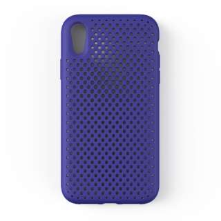 iPhone XR 6.1 インチ専用 AndMesh メッシュiPhone XRケース(ネオブルー) 612-959179