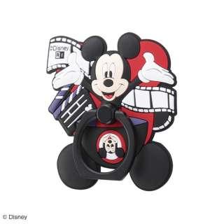 シリコンダイカットスマートフォン用リング/『ミッキー マウス 90周年デザイン』/『90周年/ミッキーマウス』_03 IS-DSBKR/AMK03 『90周年/ミッキーマウス』_03