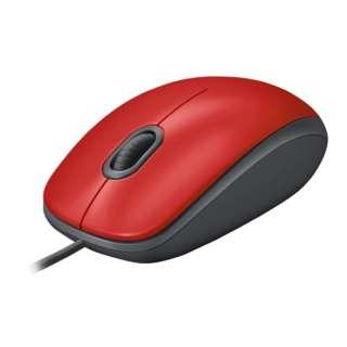 M110sRD マウス レッド [光学式 /3ボタン /USB /有線]