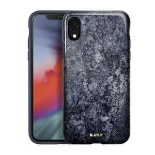 iPhone XR 6.1インチ用 LAUT HUEX ELEMENTS MARBLE BLUE LAUT_IP18-M_HXE_MBL