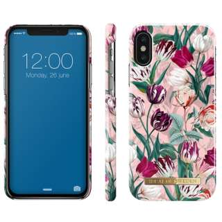 iPhone X FASHIONケース S18 VINTAGE TULIPS IDFCSU18-I8-89