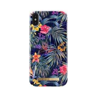 iPhone XS用ケース ミステリアスジャングル IDFCS18-I1865-72