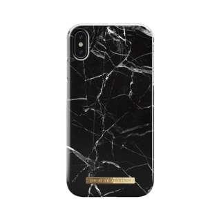 iPhone XS MAX用ケース  ブラックマーブル IDFC-I1865-21