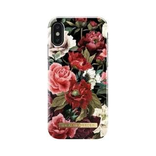 iPhone X用ケース アンティークローズ IDFCS17-I8-63