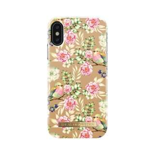 iPhone X FASHIONケース 17-18A/W CHAMPAGNE BIRDS IDFCS17-I8-65