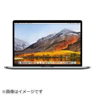 MacBookPro 15インチ Touch Bar搭載モデル・USキーボードモデル[2017年/SSD 512GB/メモリ 16GB/2.9GHzクアッドコア Core i7]スペースグレイ MPTT2J/AA