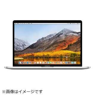 MacBookPro 15インチ Touch Bar搭載モデル USキーボードモデル[2017年/SSD 512GB/メモリ 16GB/2.9GHzクアッドコア Core i7]シルバー MPTV2JA/A