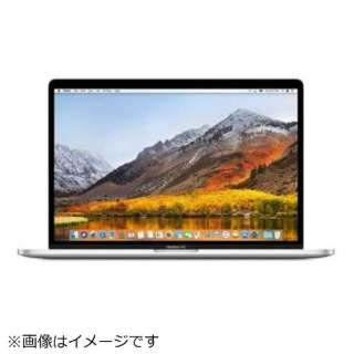 MacBookPro 15インチ Touch Bar搭載モデル[2017年/1TB flash storage/メモリ 16GB/CPU 3.1GHz/Graphics Radeon Pro 560/USキーボード] MPTX2JA/A シルバー [intel Core i7]
