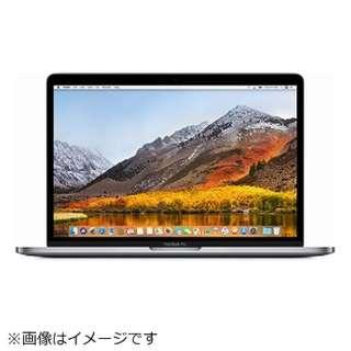 MacBookPro 13インチ Touch Bar搭載モデル USキーボードモデル[2017年/SSD 256GB/メモリ 8GB/3.1GHzデュアルコア Core i5]スペースグレイ MPXV2JA/A