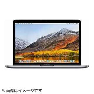 MacBookPro 13インチ Touch Bar搭載モデル[2017年/1TB flash storage/CPU 3.5GHz/Graphics Intel Iris Plus/USキーボード] MQ002JA/A スペースグレイ [intel Core i7 /メモリ:16GB]
