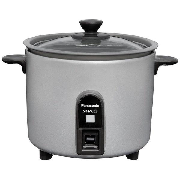 パナソニック ミニクッカー SR-MC03-S 炊飯器