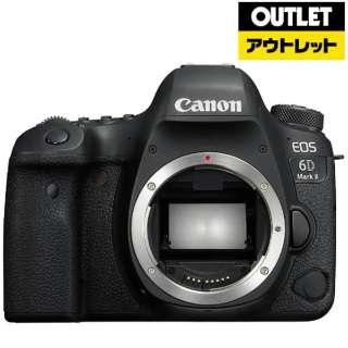 【アウトレット品】 デジタル一眼レフカメラ [ボディ単体] EOS 6D Mark II ブラック 【外装不良品】