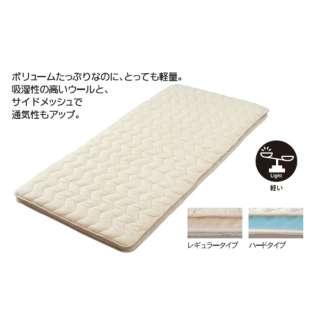 西川 さわやかメッシュ軽量敷きふとん レギュラータイプ ダブルロングサイズ(140×210cm) KNN2359100
