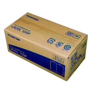 LR20L 100P 単1電池 [100本 /アルカリ]