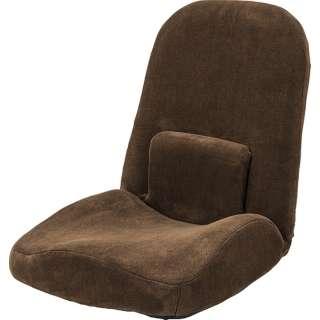 【座椅子】腰サポートリクライナー RKC-172BR(W47×D61-103×H58-14×SH8cm)