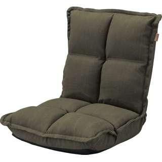 【座椅子】カックンリクライナー RKC-173GR(W38×D43-52×H23-47×SH13cm)