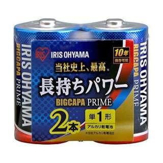 LR20BP/2P 単1電池 BIG CAPA PRIME(ビッグキャパ) [2本 /アルカリ]