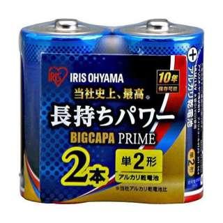 LR14BP/2P 単2電池 BIG CAPA PRIME(ビッグキャパ) [2本 /アルカリ]