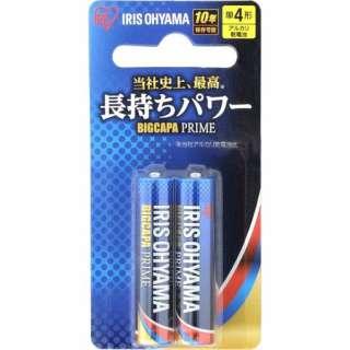 LR03BP/2B 単4電池 BIG CAPA PRIME(ビッグキャパ) [2本 /アルカリ]