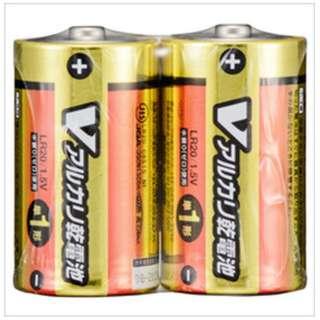 LR20/S2P/V 単1電池 [2本 /アルカリ]