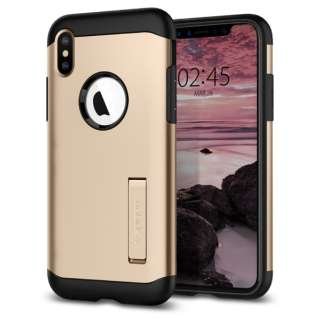 iPhone XS 5.8 Case Slim Armor Champagne Gold